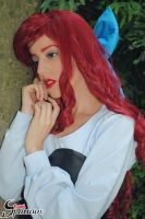 Ariel  Kiss the Girl  cosplay by BabiSparrow