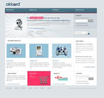 Akkord Corporate Web Design by avcibulent