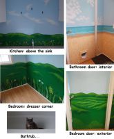 House mural paintings by T-h-a-e-r