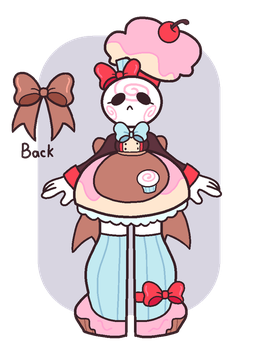 Marsha Mallow the Baker by Cuppykins