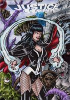 DC: Justice League - Zatanna by tonyperna