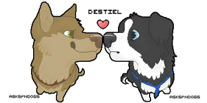 Destiel shared pixel icons by FourDirtyPaws