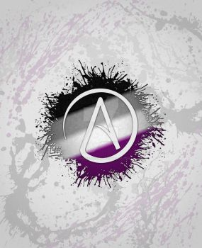 Atheist Symbol Asexual by lovemystarfire