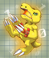 Agumon by G-manluver