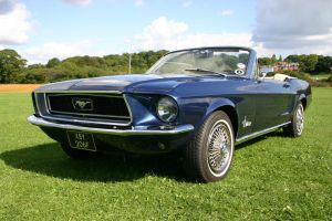 mustang rag top 68 by Sceptre63