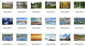 25 Wide Screen Nature Pack by Subbmitter