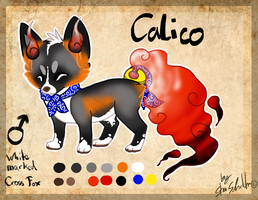 MYO : Calico the Soulfox by StanHoneyThief