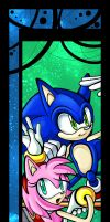 .:Bookmark Sonic Amy:. by Shanella