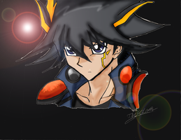 Yusei Fudo Colored by Hyrox816