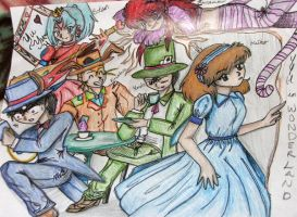 Entry: YYH in Wonderland by MidnightDestiny04