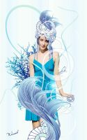 Sea Goddess-Thetis by waver-h