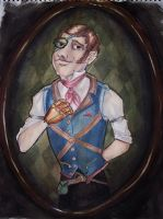 Steampunk Oliver by TadpoleOfDoom