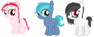 Foal Adoptables - CLOSED by Shimmering-Adopts