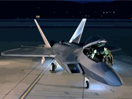 F22 Raptor by varun-cassey