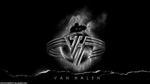Van Halen Black Wallpaper by raimundogiffuni