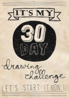 30 Day Drawing Challenge - Intro by paldipaldi
