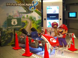 MK8 at Nintendo World 05 by MarioSimpson1