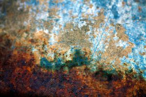 blue brown abstract texture2 by beckas