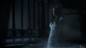 The woman in white by Lasse17