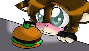 CHEESEBURGER!!! by Stitch-creepy-muffin