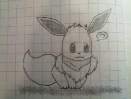 Eevee sketch by Marlous2604