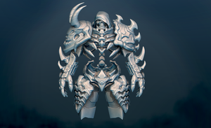 DArksiders Style  WIP by DragonisAris