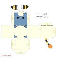 Mareep Papercraft by CharrChan