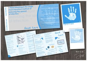 Hand care Flyers by robinweatherall
