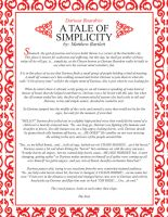 A Tale of Simplicity 'story' by Karbacca