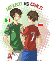 LH: Mexico versus Chile by Fuko-chan
