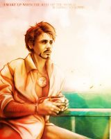 Tony Stark - Sunset Morning by VoydKessler