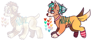 Dog Thing Adopts by Narkootikumid