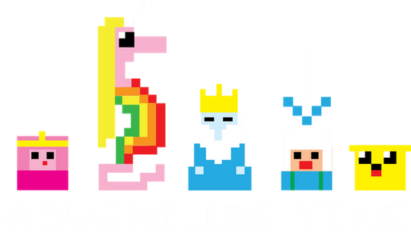 8-Bit Adventure Time by xkappax