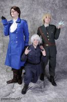 Lovely Trio from Colossalcon 2013 :O by jambalambam
