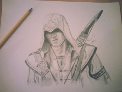 Connor Kenway - Assassin's Creed 3 by xXTevinXx