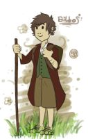 Bilbo Baggins by Tysirr