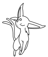espeon pokemon coloring pages - photo#30