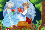 Magical Fairy Wedding Dress up Game by willbeyou