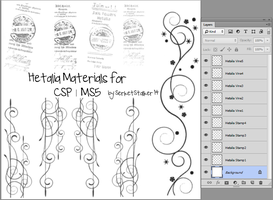+ Hetalia Materials | For CSP/MS5 + by Serket-XXI