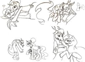 MLP: FIM - Dislestia Collection by Invader-Sam