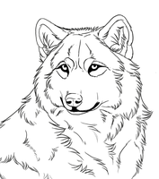 free lineart1 by TheMysticWolf