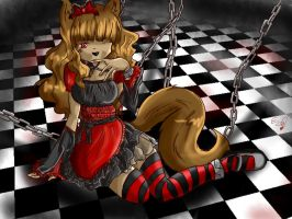 Contest entry_Lost alice by Evabloodywolf