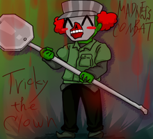 Tricky the Clown by sayrenson