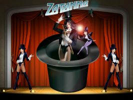 Zatanna wallpaper by SWFan1977