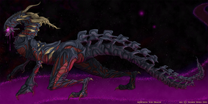 AQWorlds Contest Submission - Void Dragon by TrainerSpyro