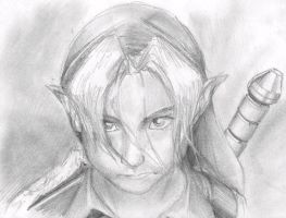 Kid Link Sketch by DreZX