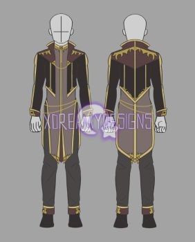 Clothing Auction: Male Outfit 8 (CLOSED) by xDreamyDesigns
