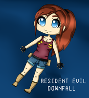 RESIDENT EVIL DOWNFALL by xAnimeCookie