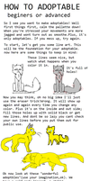 HOW TO ADOPTABLE part one by saffyadopts10a