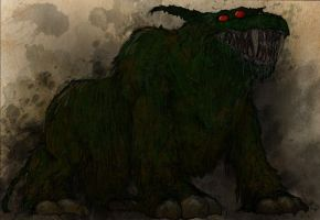 Ghostbusters - The Bog Hound by T-RexJones